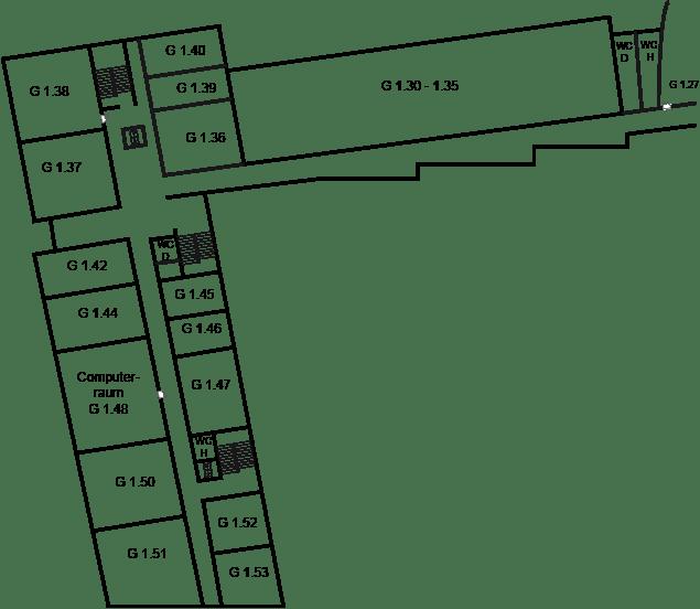 HM G-Gebäude 1. Obergeschoss