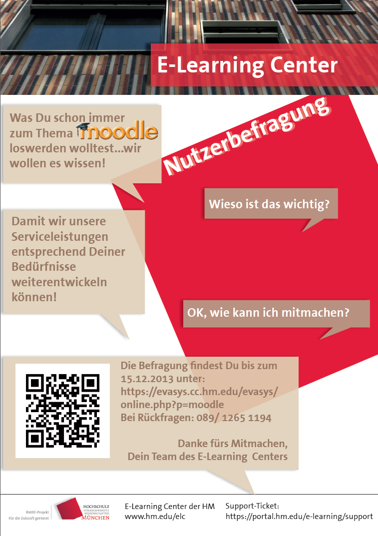 E-Learning Center - Moodle-Umfrage