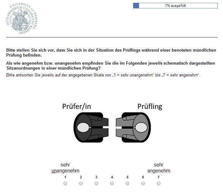 Online-Umfrage Angenehmere Prüfungsatmosphäre schaffen (beendet)